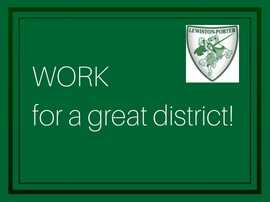 Work for a great district