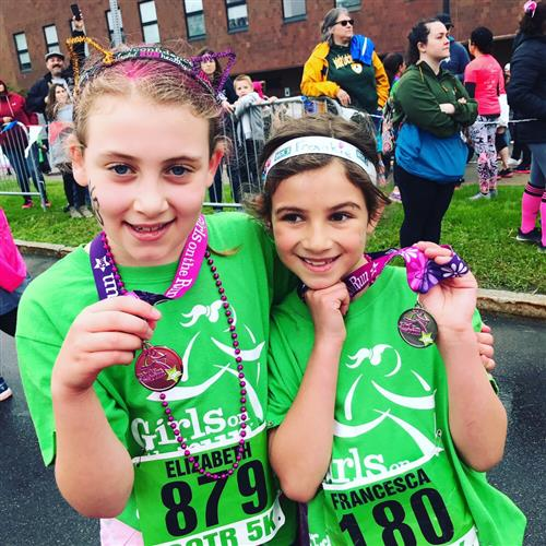 Girls on the Run Medal