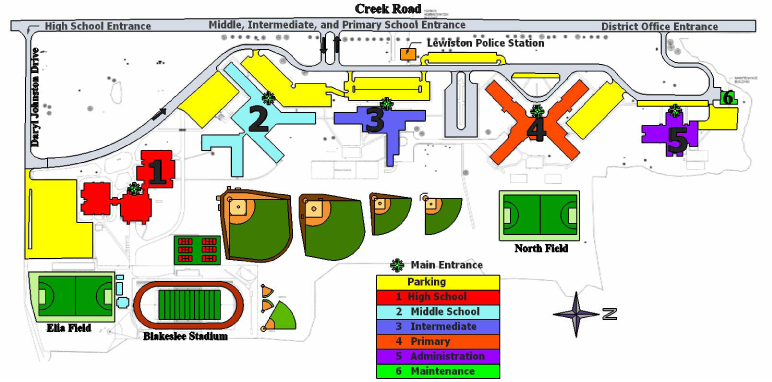 About Us Campus Map